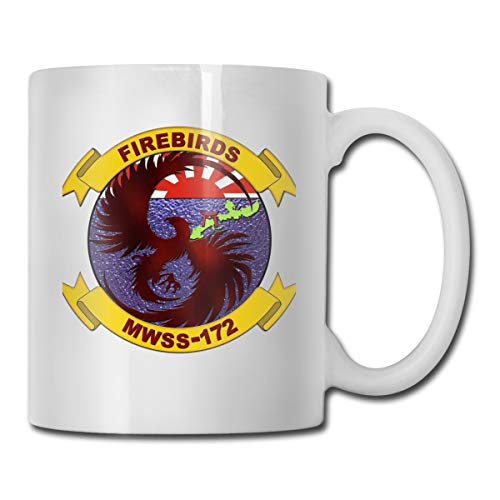 VRKKDCAP Marine Wing Support Squadron 172 Funny Novelty Gift Mug White Ceramic Cup