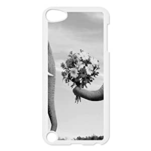 HB-P-CASE DIY Design Elephant Pattern Phone Case For Ipod Touch 5