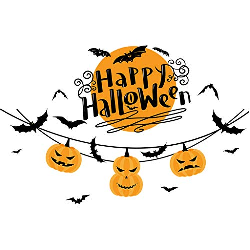- Gogoodgo Halloween Decorations Wall Decal Window Decor Party Supplies Decorations for Kids Rooms Nursery Party Stickers