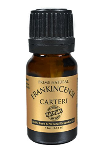 Frankincense Essential Oil Boswellia Carterii 10ml - 100% Natural Pure Undiluted Therapeutic Grade for Aromatherapy Scents Diffuser Relaxation Stress Anxiety Relief Pain Inflammation Anti aging Acne