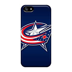 Premium Columbus Blue Jackets Back Snap On For SamSung Galaxy S6 Phone Case Cover
