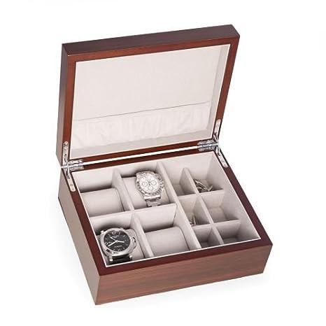 Amazon.com: BEY Berk Reloj y Gemelos caja de almacenamiento ...