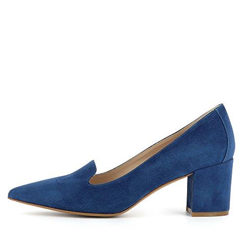 Evita Shoes Romina Escarpins Femme Daim Bleu YdgZldF