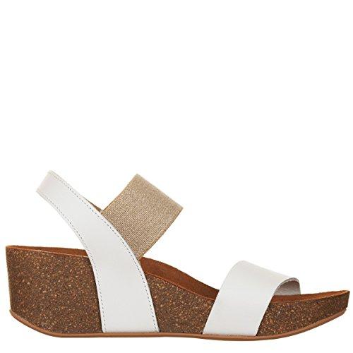 VialeScarpe Gar-669418bi 37 - Sandalias de vestir de Piel para mujer blanco  Bianco 37 Bianco 14f819c90830
