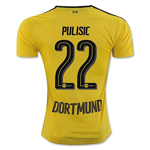 Pulisic Yellow Adult Soccer Jersey product image