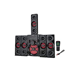 Seven R Black Grand Home Theater with Tower settllite Speaker 120 W Bluetooth Home Theatre (Black, 5.1 Channel)