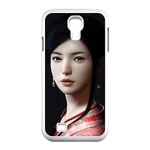 asian girl 2 Samsung Galaxy S4 9500 Cell Phone Case White 53Go-123125