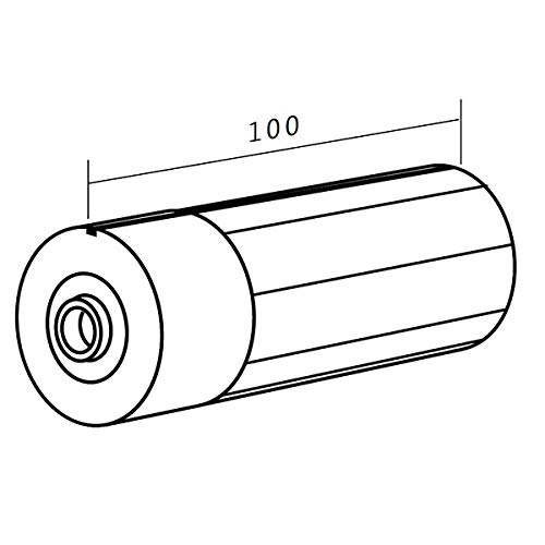 Somfy Roller Tube End Cap with 12mm Hole