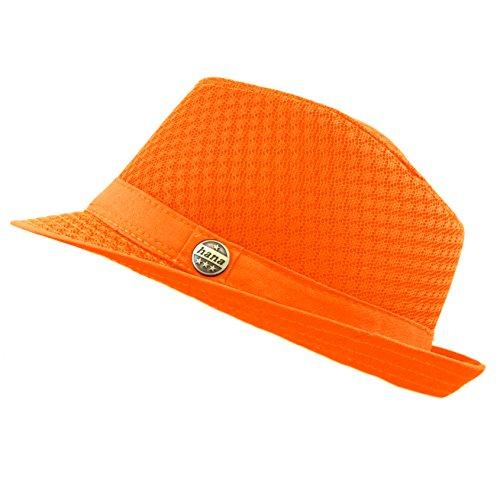 the-hat-depot-200g1015-light-weight-classic-soft-cool-mesh-fedora-hat-l-xl-orange