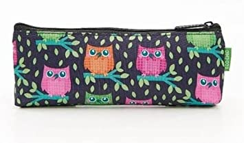 11cf50b1e9 Image Unavailable. Image not available for. Colour  ECO CHIC Pencil Case or  Small Makeup Bag (Owl)