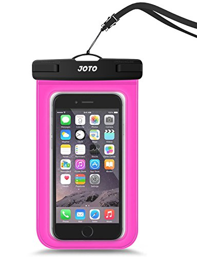 - JOTO Universal Waterproof Pouch Cellphone Dry Bag Case for iPhone XS Max XR XS X 8 7 6S Plus, Samsung Galaxy S9/S9 +/S8/S8 +/Note 8 6 5 4, Pixel 3 XL Pixel 3 2 HTC LG Sony MOTO up to 6.0