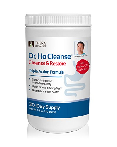 Dr. Ho Cleanse & Detox-Eliminate Built-up Toxins and Waste; Relieve Discomfort from Constipation, Gas, & Upset Stomach; Feel Lighter, Slimmer & Energized by Dr Ho Cleanse