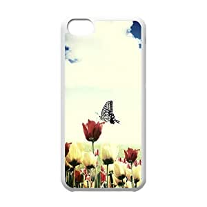 Butterfly Custom Case for Iphone 5C, Personalized Butterfly Case