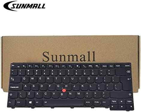SUNMALL Backlit Keyboard Replacement with Big Enter Key for Lenovo