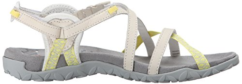Merrell Womens Terran Lattice Ii Sandalo Bianco