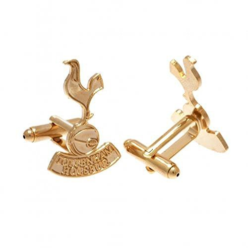 Tottenham Hotspur FC Official Football Gift Gold Plated Cufflinks - A Great Christmas / Birthday Gift Idea For Men And Boys by Official Tottenham Hotspur FC Gifts by Official Tottenham Hotspur FC Gifts
