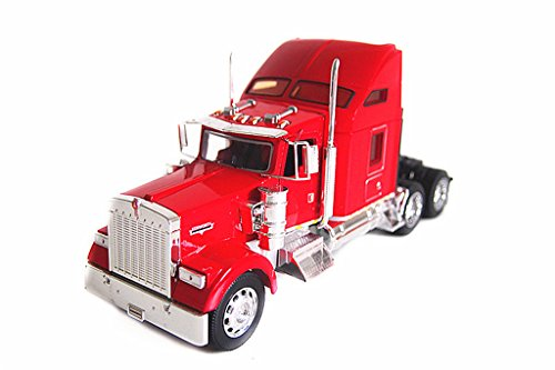 1:32 Welly Kenworth W900 Semi Tractor Trailer Truck Diecast Model Red New in Box 32660