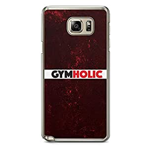 Inspirational Samsung Note 5 Transparent Edge Case - Gymholic