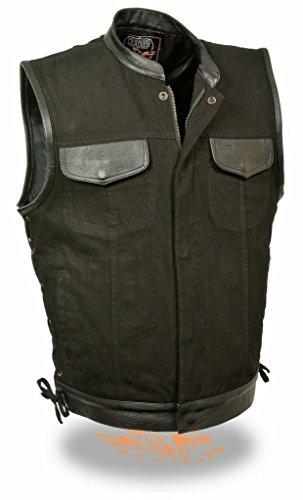 Denim Motorcycle Vest - 7