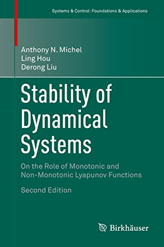 Stability of Dynamical Systems: On the Role of Monotonic and Non-Monotonic Lyapunov Functions (Systems & Control: Foundations & Applications) - Non Equilibrium Systems