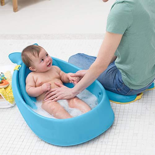 Skip Hop Moby Baby Bath Tub 3 in 1 Smart Sling, Blue