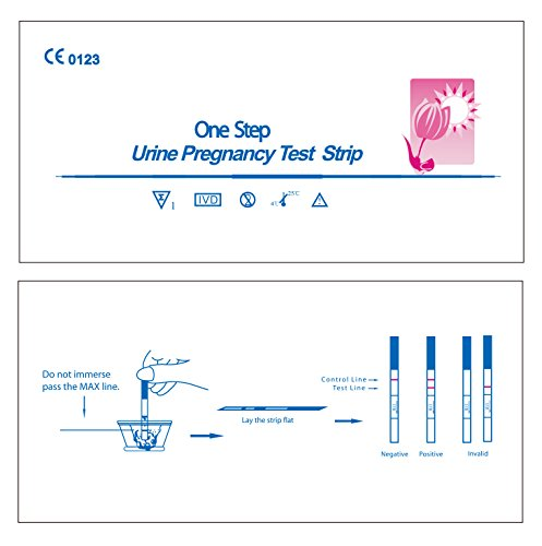 Ovulation Test Strips and Pregnancy Test Strips Combo Kit Easy Test Strips (50LH+20HCG) by AONOR (Image #1)