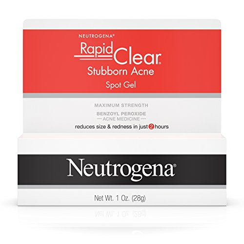 Price comparison product image Neutrogena Rapid Clear Stubborn Acne Spot Gel, 1 Oz