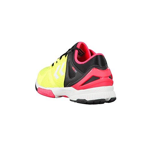 Chaussures Hummel Aerocharge HB200 jaune/noir/rose