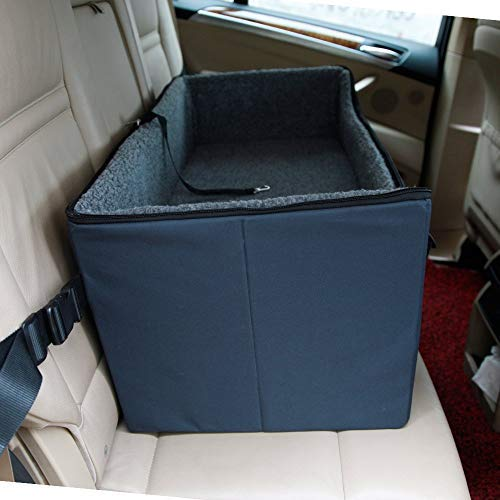 A4Pet Pet Lookout Booster Car Seat/Raised Pet Bed at Home for 2 Small Dogs, Cats and Large Dog by A4Pet
