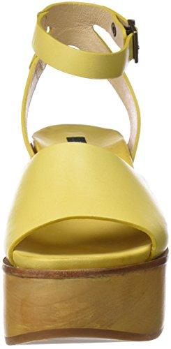 Yellow Jaune S507 Femme Sandales Ceylon Plateforme Neosens qxYOI1UO