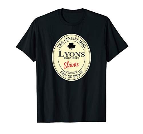 Lyons Irish Last Name T-Shirt