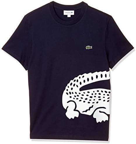 Tシャツ [公式] レギュラーフィット オーバーサイズワニプリントクルーネックTシャツ メンズ TH5139L