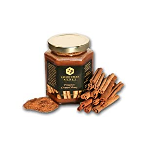 Desert Creek Honey's Cinnamon Creamed Honey, 14 oz