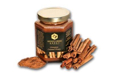 Desert Creek Honey Cinnamon Creamed Honey, 14 oz. (Cinnamon Honey)