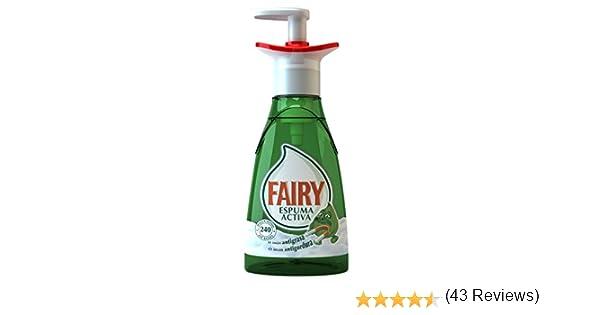 Fairy Espuma Activa - Lavavajillas, 375 ml: Amazon.es: Salud y ...