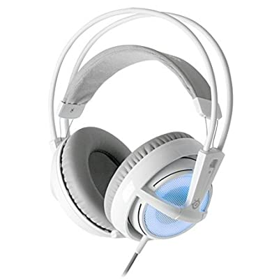 SteelSeries Siberia V2 Full-Size Gaming Headset with Built-In USB Sound Card - Frost Blue (Certified Refurbished)