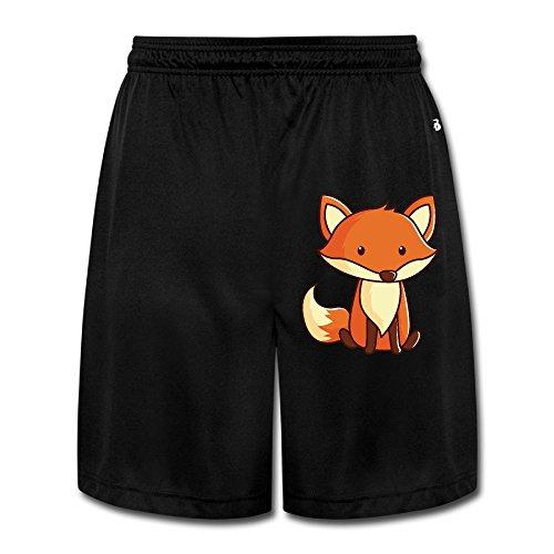 Fox Men's Short Pants Yoga Sweatpants Performance Shorts Workout Sweatpants Gym Sweatpants XXL (Fox News The Five Halloween Costumes)