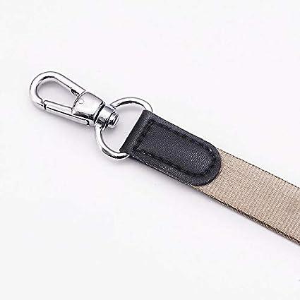 90 cm Vi.yo 1 St/ück Schl/üsselband Hochgl/änzendes Nylon-Handyband Lanyards Schl/üsselanh/änger 1