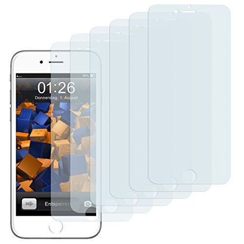 mumbi 3D Touch Schutzfolie iPhone 6 Plus 6s Plus Folie Displayschutzfolie (6er Set)