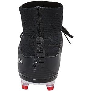 NIKE Men's Mercurial Veloce III DF FG Soccer Cleat (Sz. 10) Black