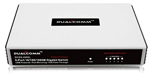 Dualcomm DCGS-2005L 10/100/1000Base-T Gigabit Network TAP