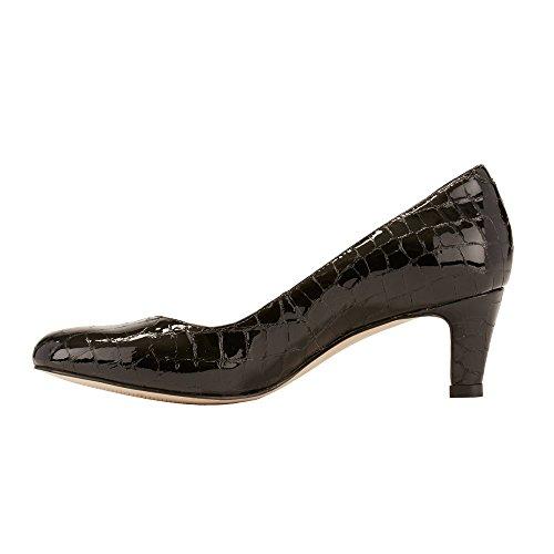 Women's Dress Walking Patent Black Joy Cradles Pump Crocco TwwCxFZqc5