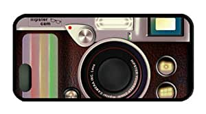 Vintage Retro Camera Theme Iphone 5 5S Case TPU Material