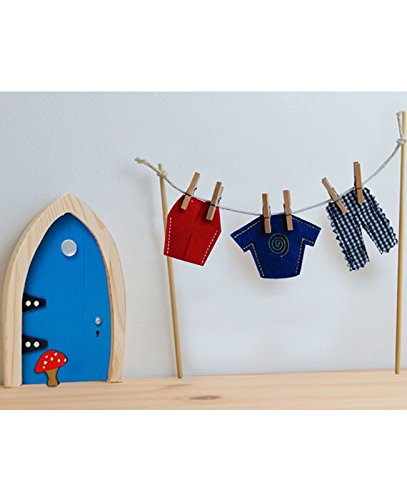 Costume Accessories Tooth Fairy (The Irish Fairy Door Company - Clothes Line with Male)