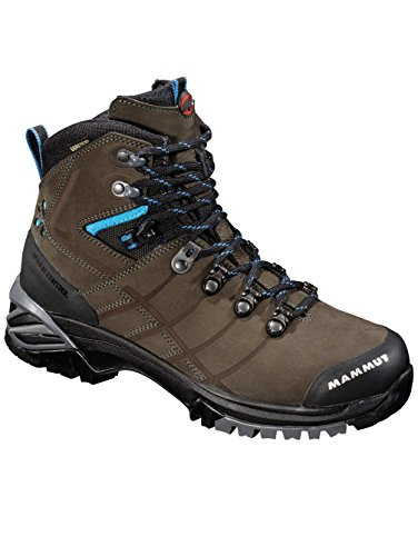 Damen Outdoor Schuh Mammut White Rose GTX½ Outdoor Shoes Women bark/light turquoise