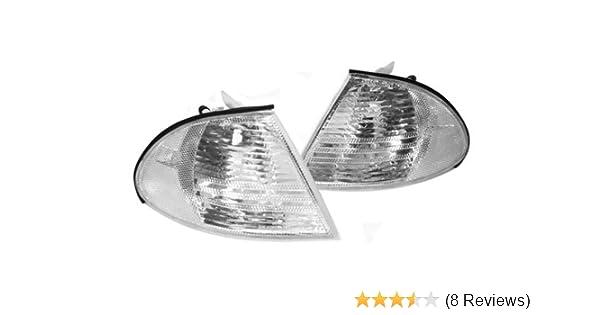 1999 2000 2001 BMW E46 3-Series 325i//325xi//328i//330i//330xi//M3 4DR Corner Lights
