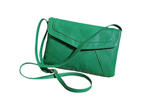 DESIGN FREUNDE Borsa Messenger, verde (verde) - 1265