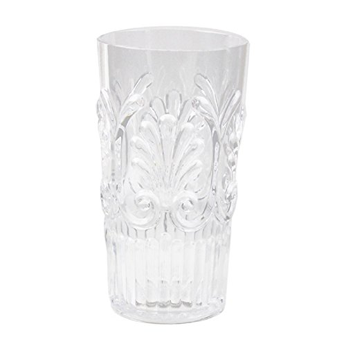 Le Cadeaux Fleur 21 oz Ice Tea Glass, Clear ()