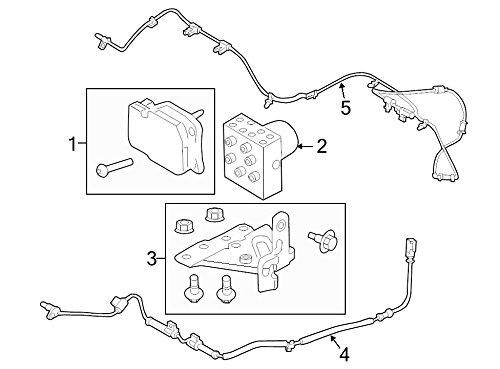 ABS Control Module Ford EC3Z-2C219-B