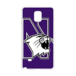 Northwestern Wildcats Design Plastic Case Cover For Samsung Galaxy Note4 Kimberly Kurzendoerfer